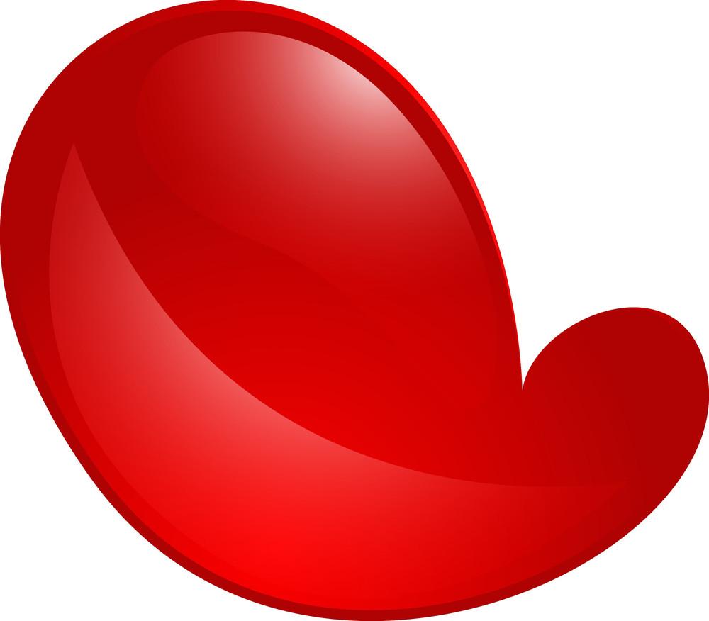 Shiny Heart Design