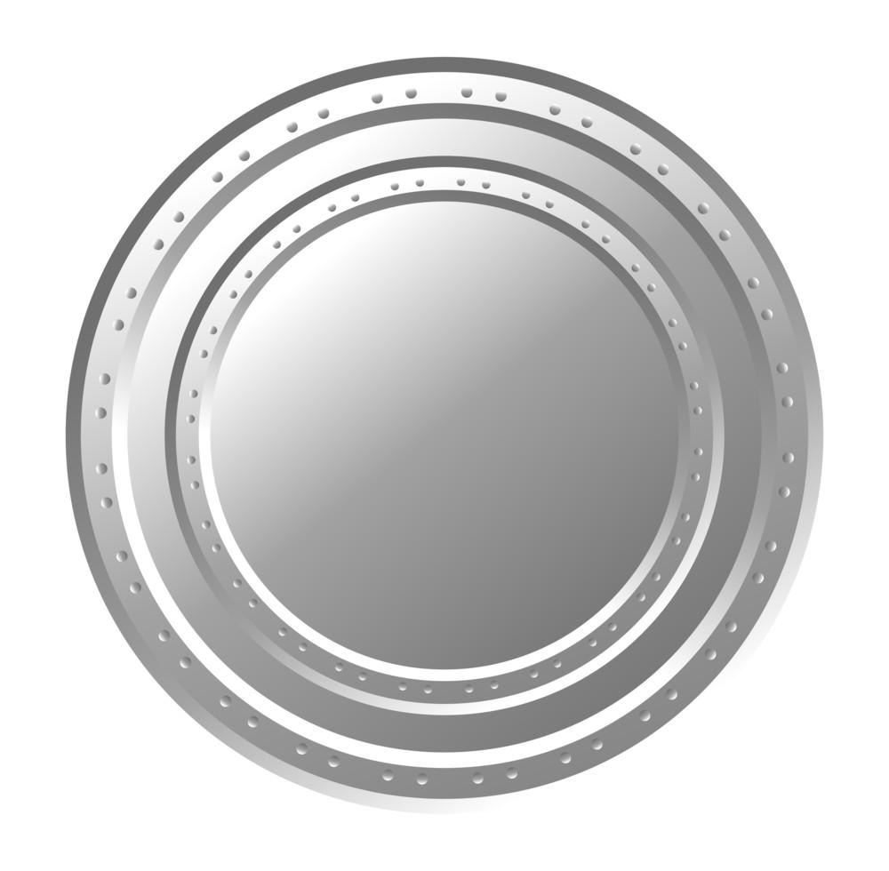 Shiny Metallic Coin