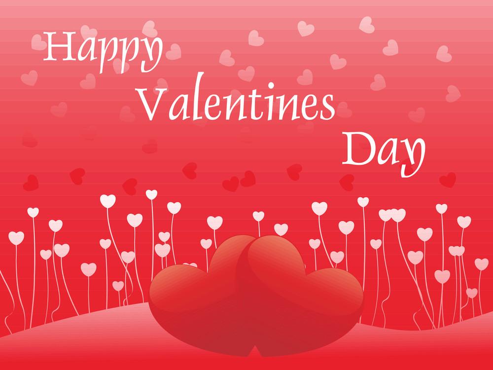 Shiny Romantic Couple Heart