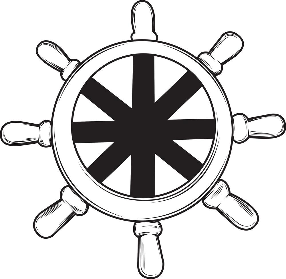Ship Anchor Vector Elements