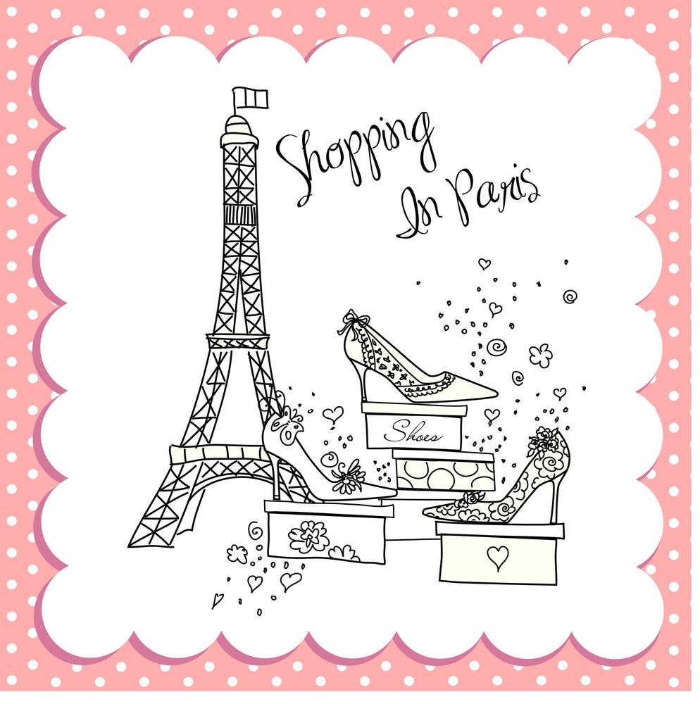Shopping In Paris-