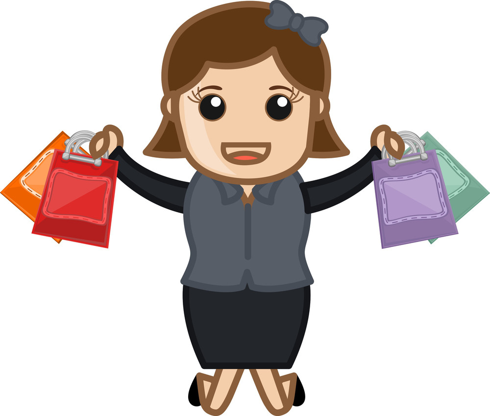 Shopping Offers - Cartoon Vector