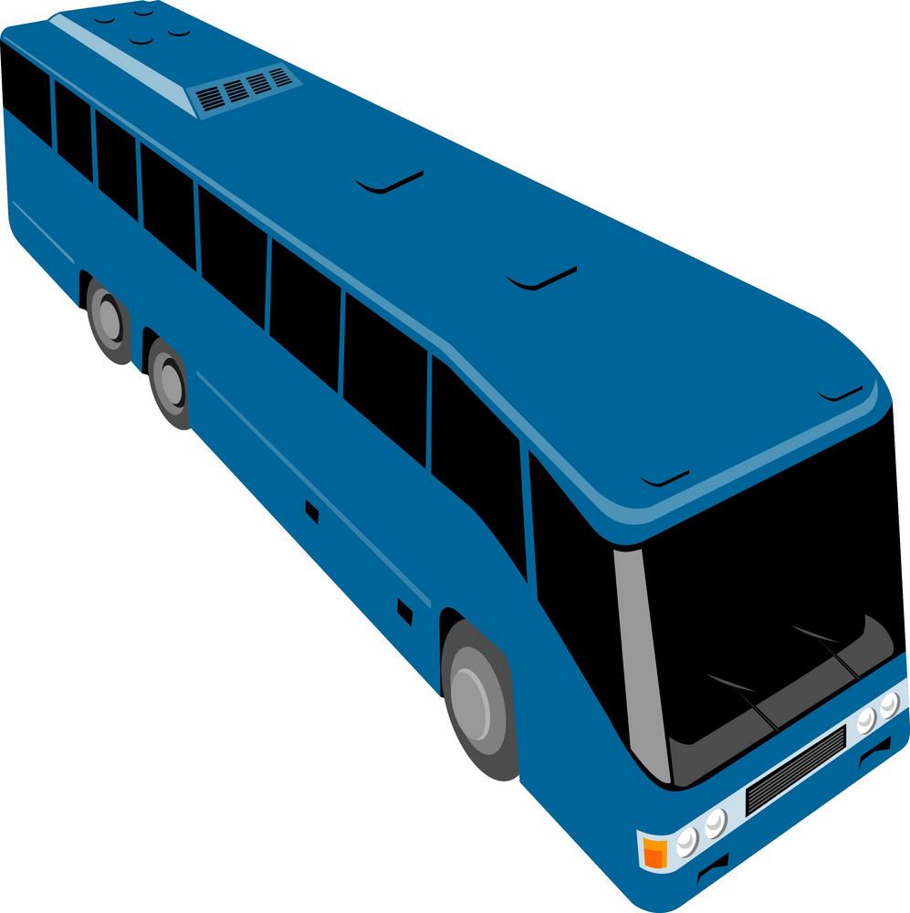 Shuttle Coach Bus