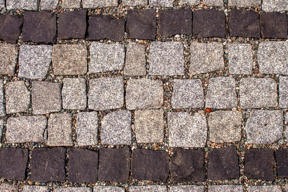 Sidewalk tiles background