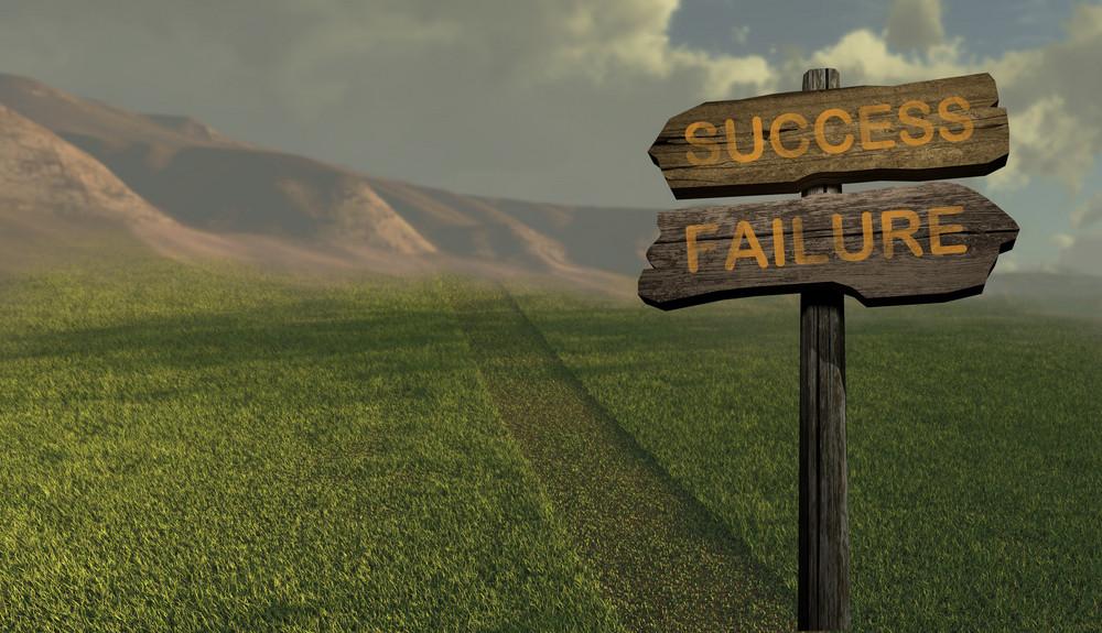 Sign Direction Success   Failure