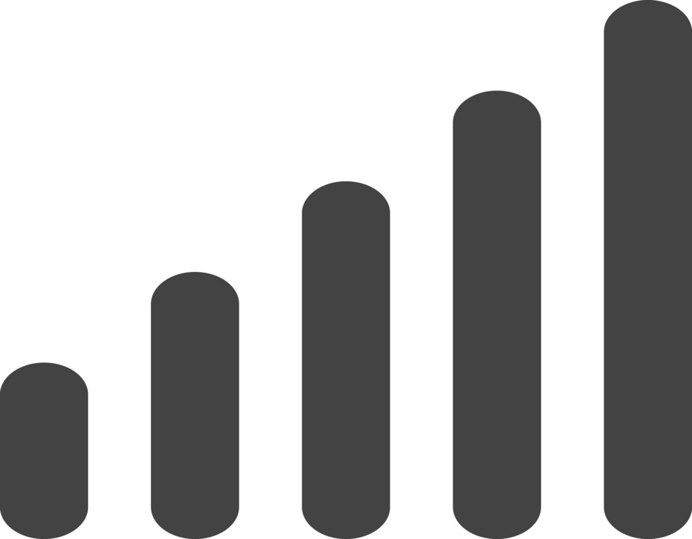 Signal Glyph Icon