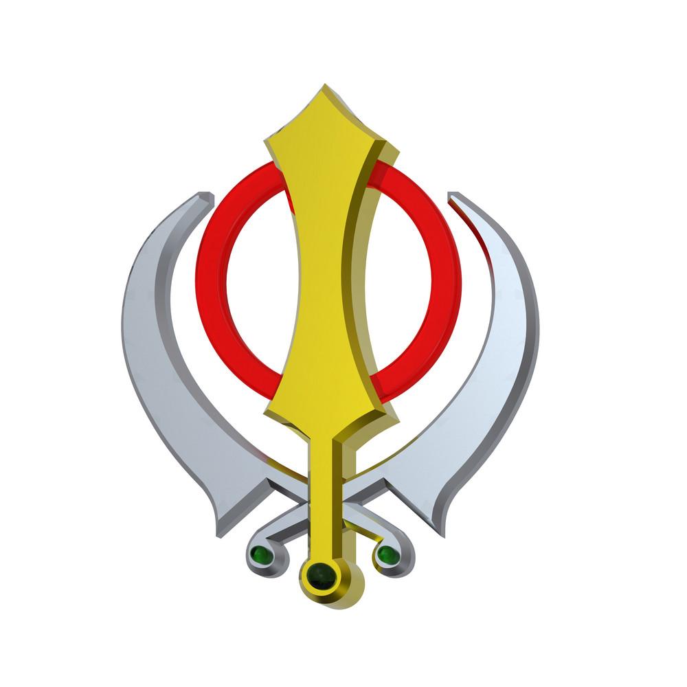 Sikhism Symbol.