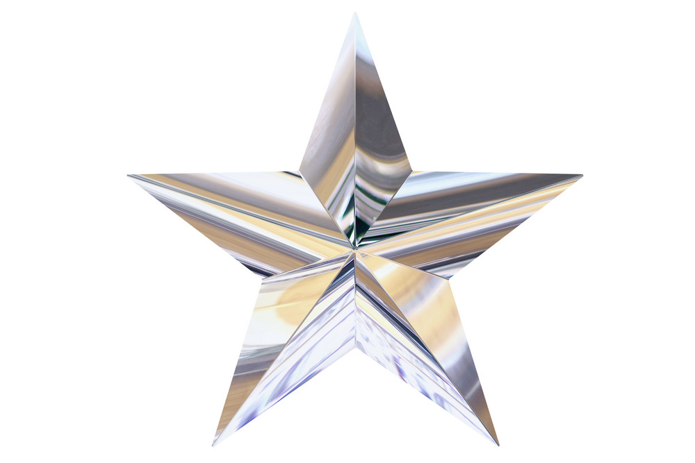 Silver Chrome Star