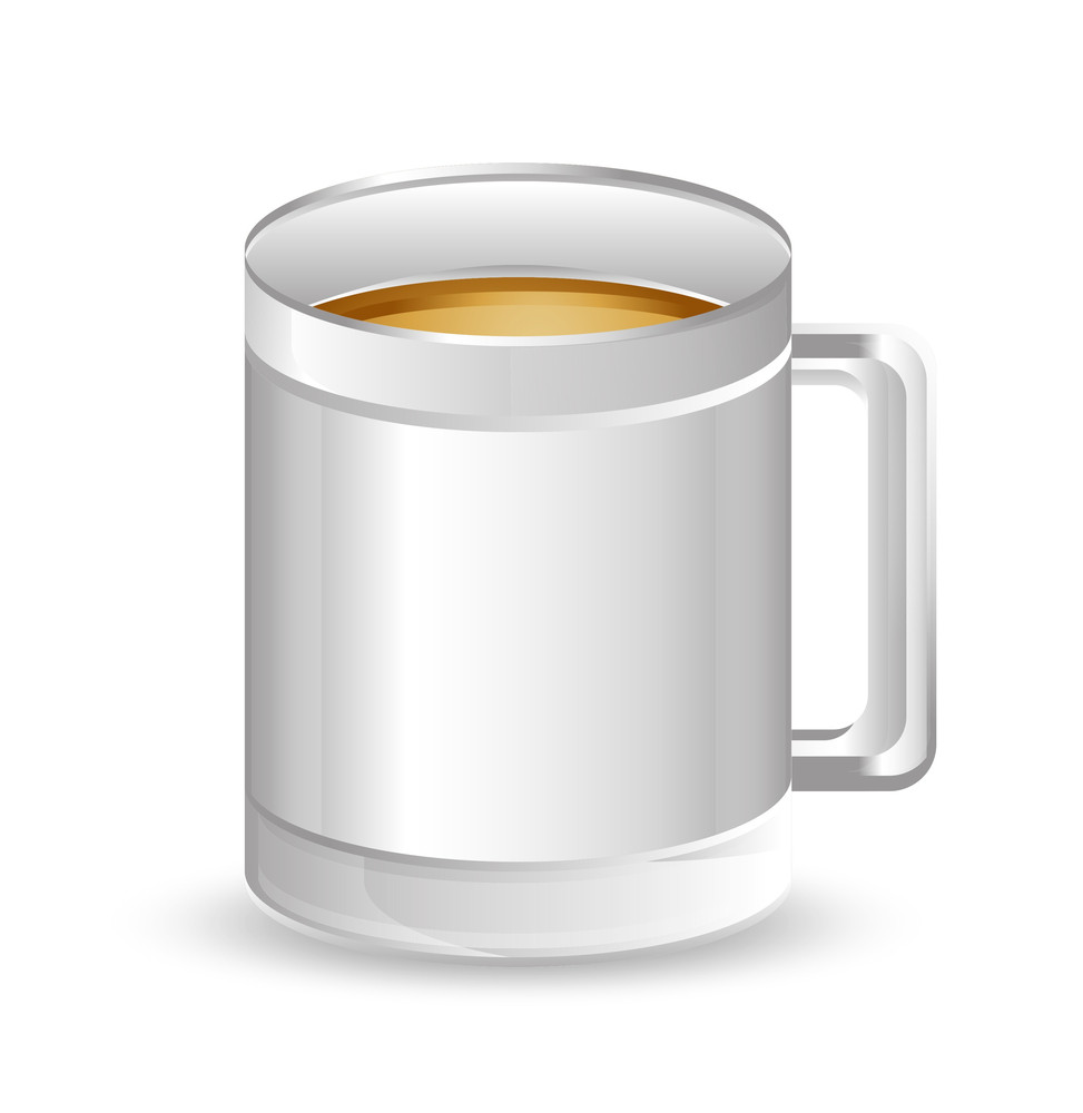 Silver Drink Mug