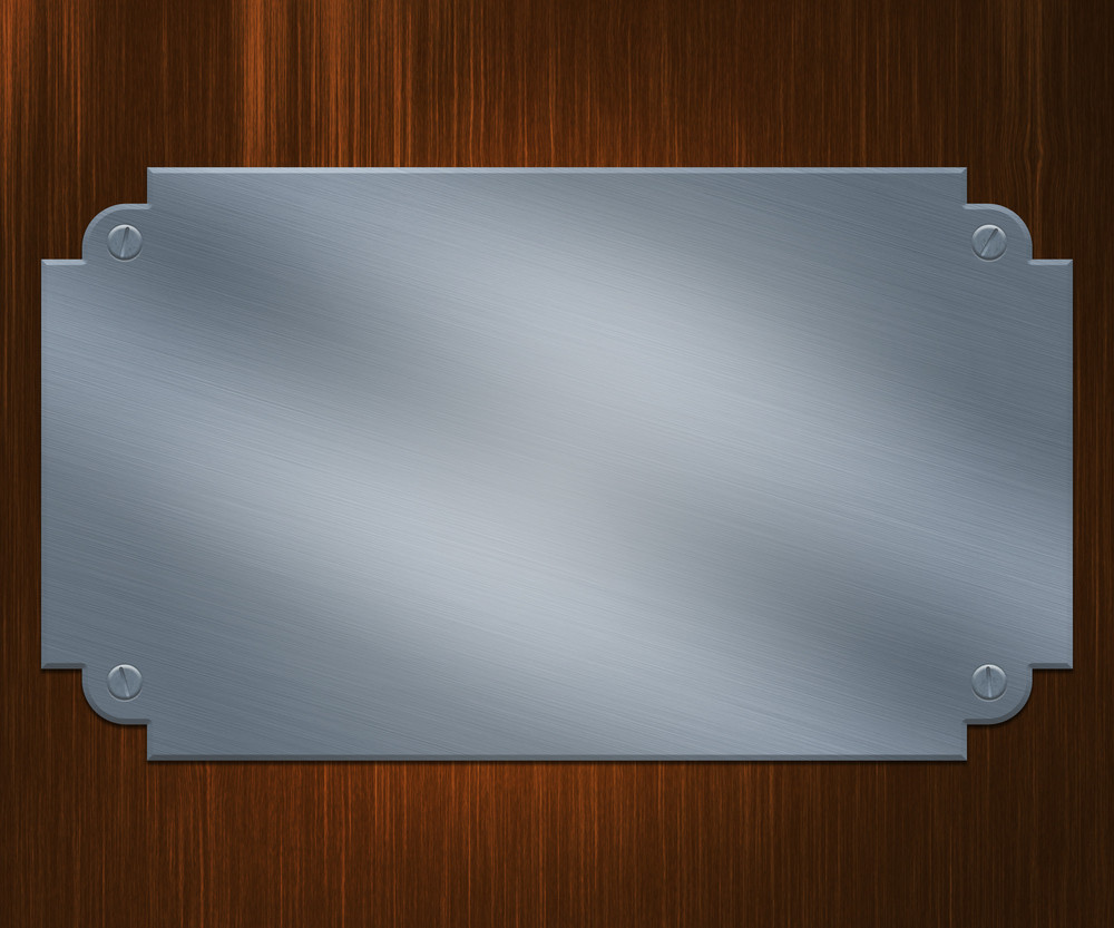 Silver Plate Background