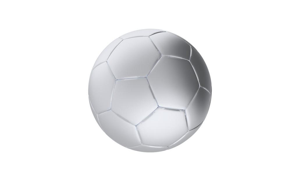 Silver Soccer Ball