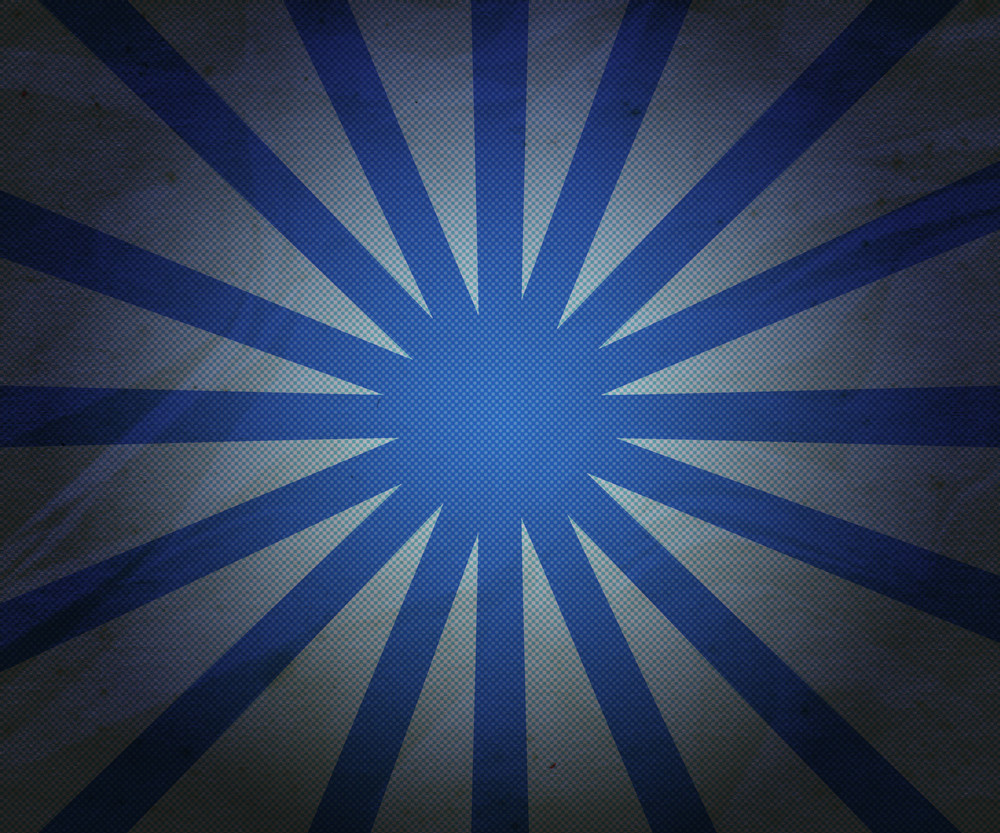 Simple Blue Rays Background