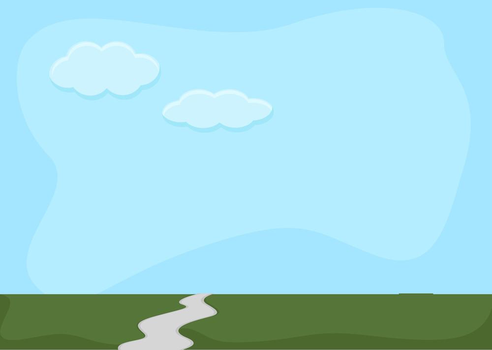 Simple - Cartoon Background Vector