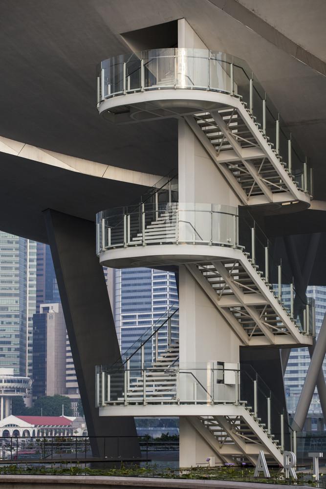 Singapore Science museum stairs
