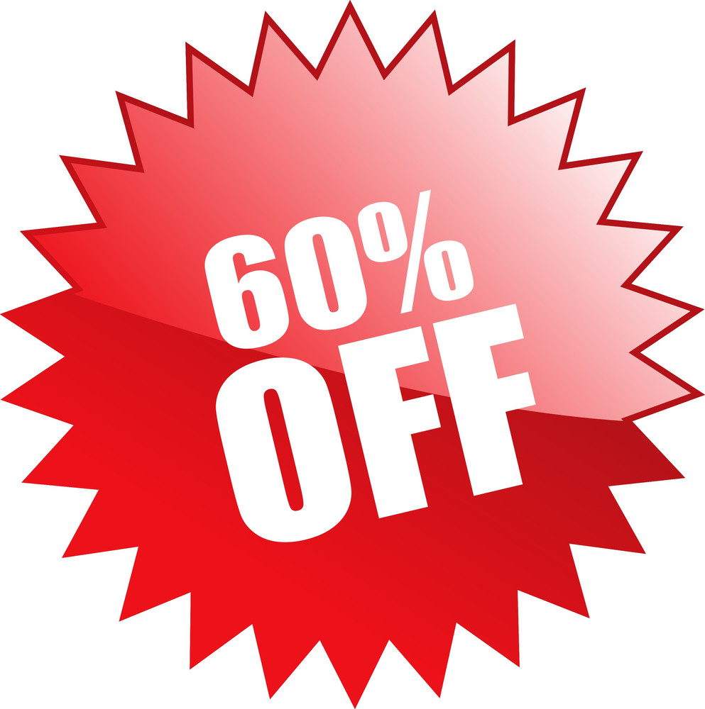 Sixty Percent Discount Coupon