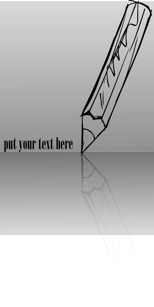 Sketch Of Pencils. Vector Illustration