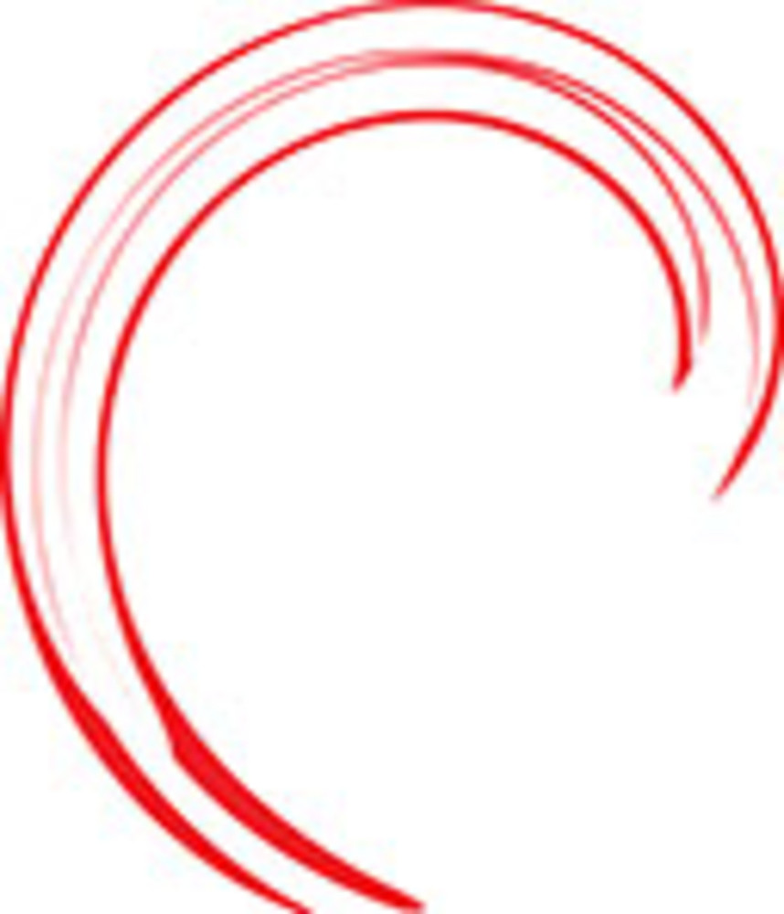 Sketch Of Spiral Design Element.
