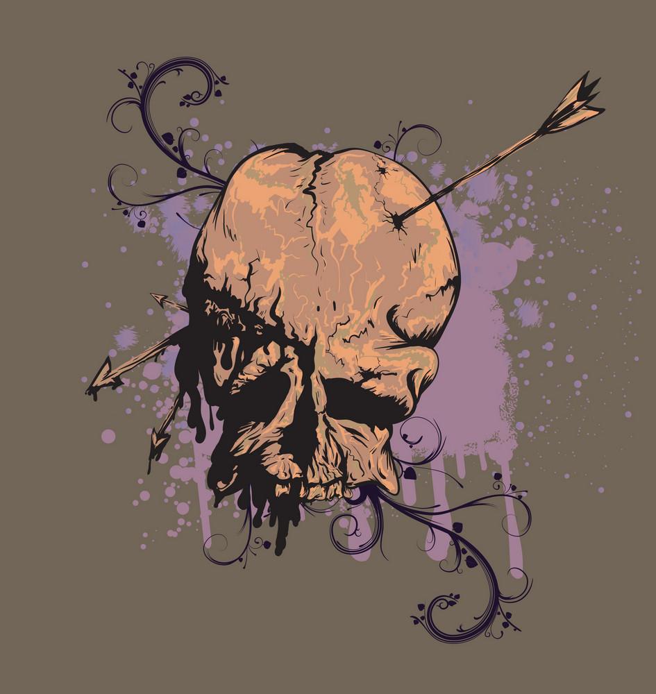 Skull Background