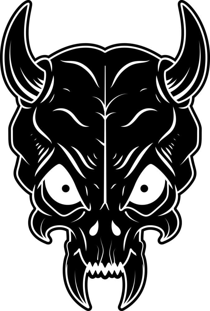 Skull Tribal Style