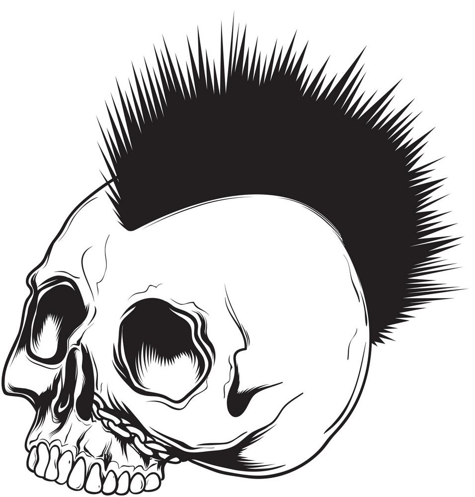 Skull Vector Elements
