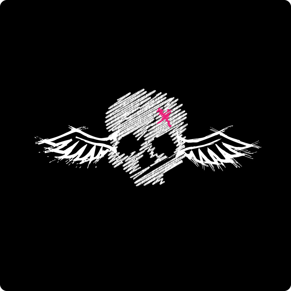 Skull With Wings - Emo Style