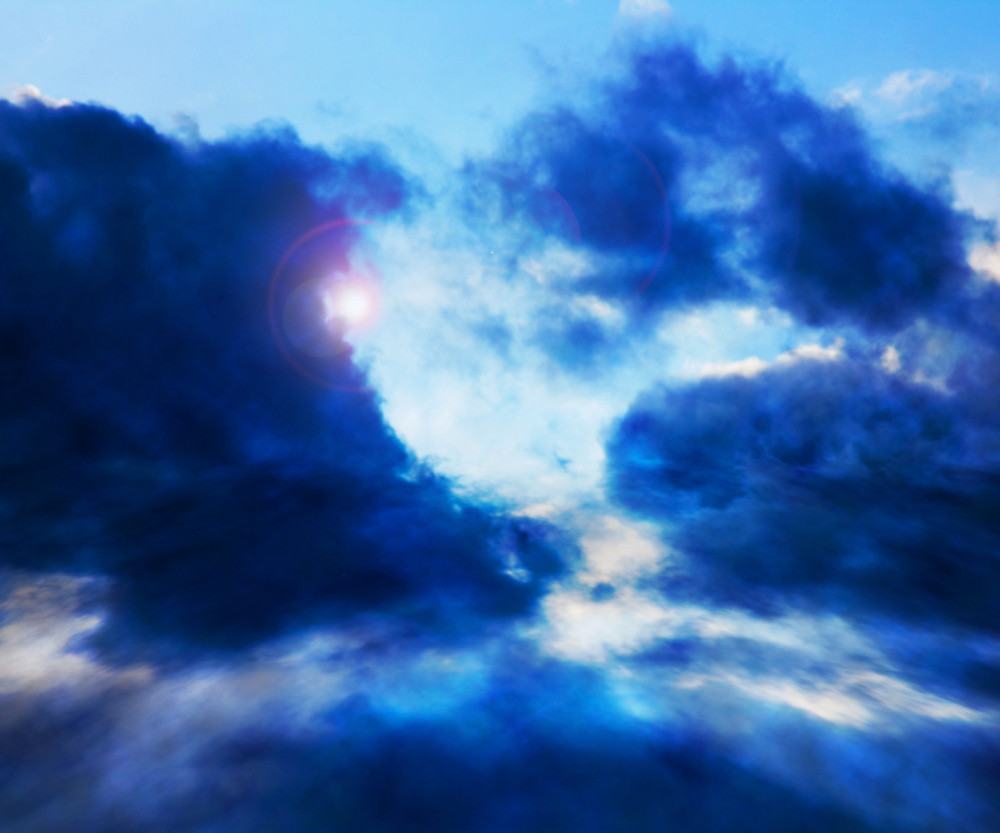 Sky Cloud Stage Background