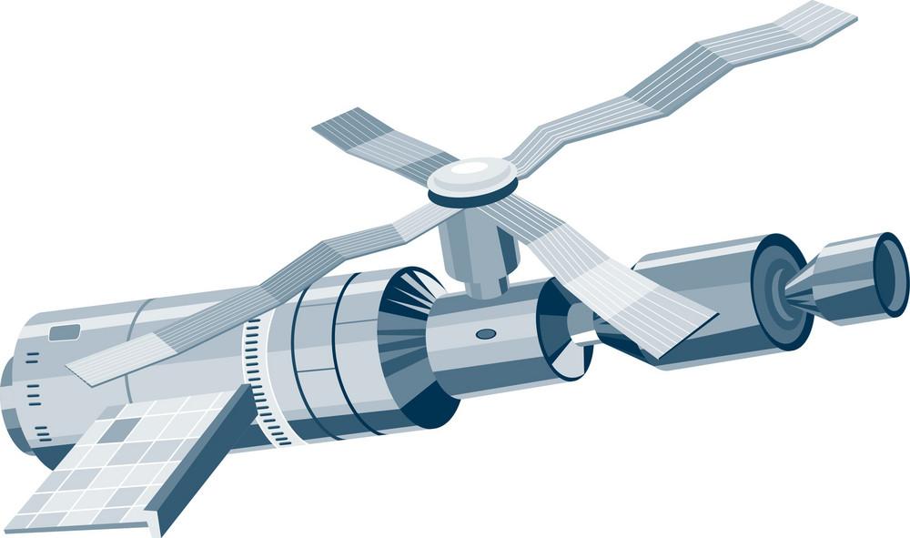 Skylab Space Station Satellite