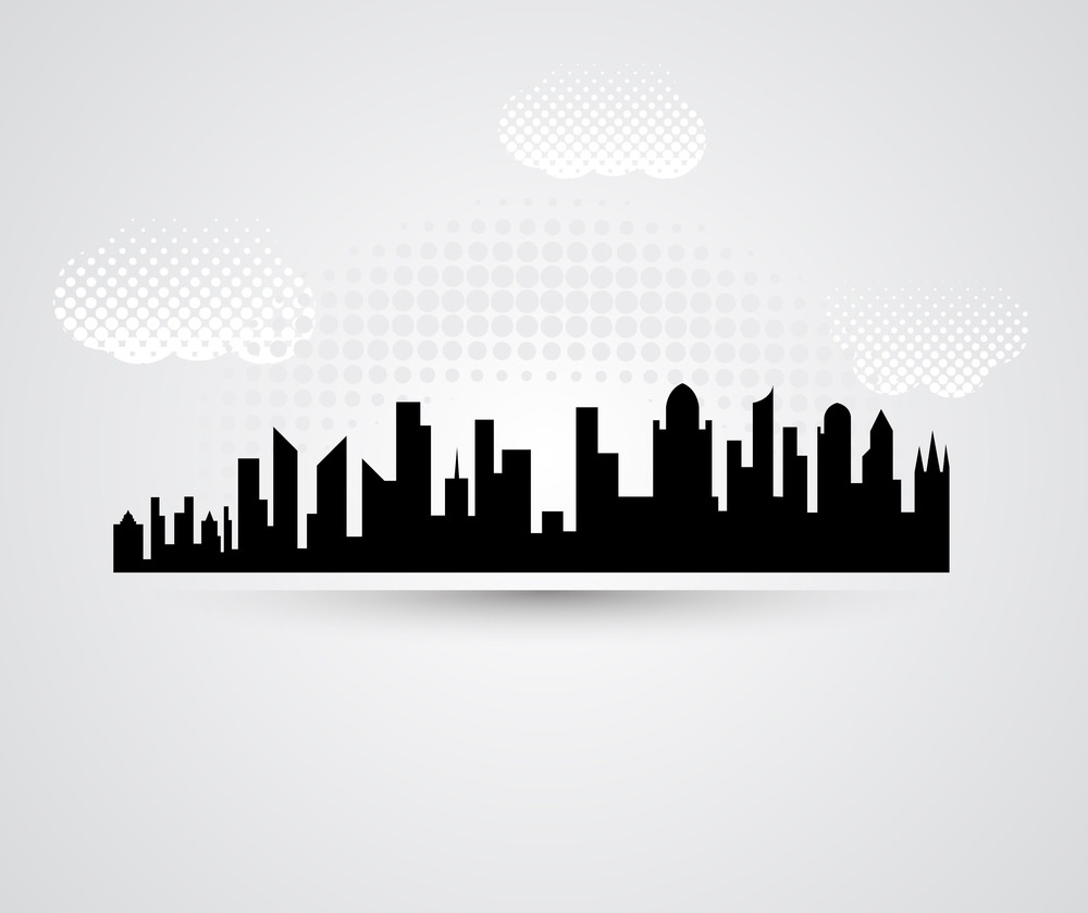 Skylines Clouds Background
