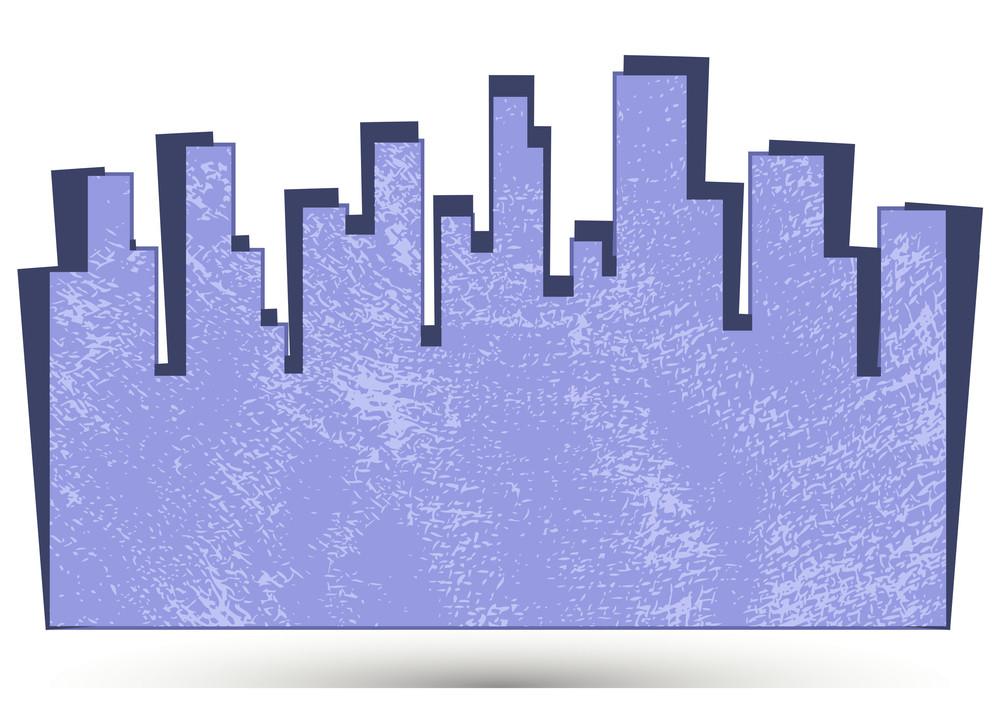 Skyscraper Grunge Banner