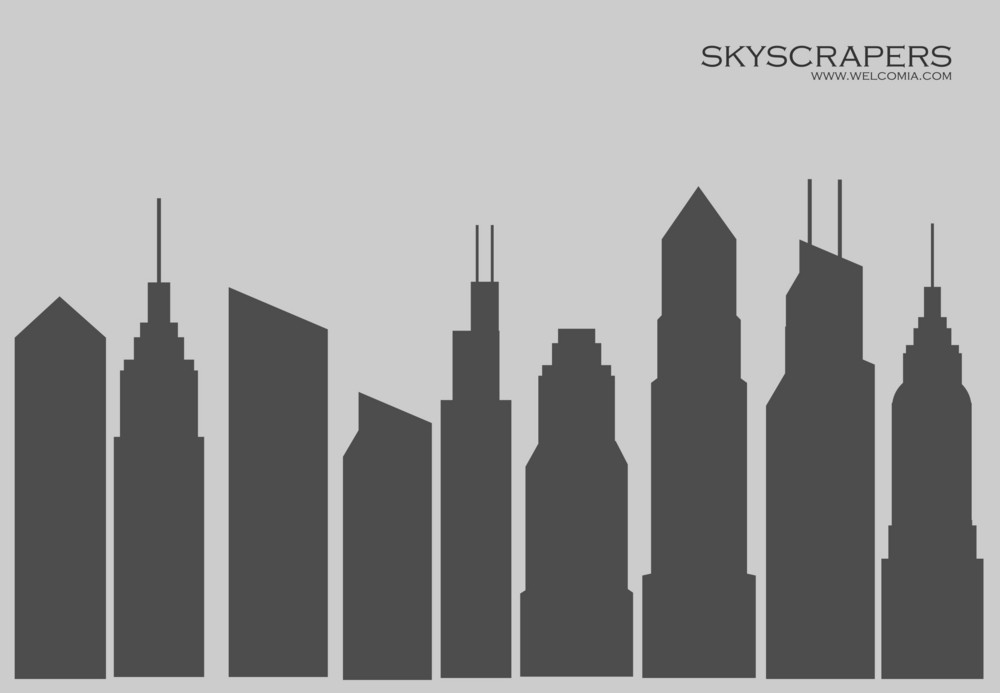 Skyscrapers Silhouettes