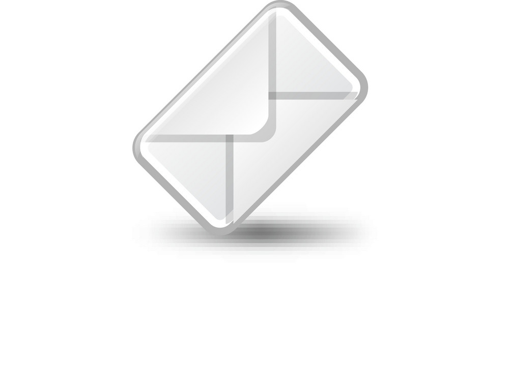 Slanted Envelope Lite Plus Icon