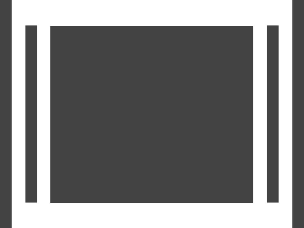 Slide Show Glyph Icon