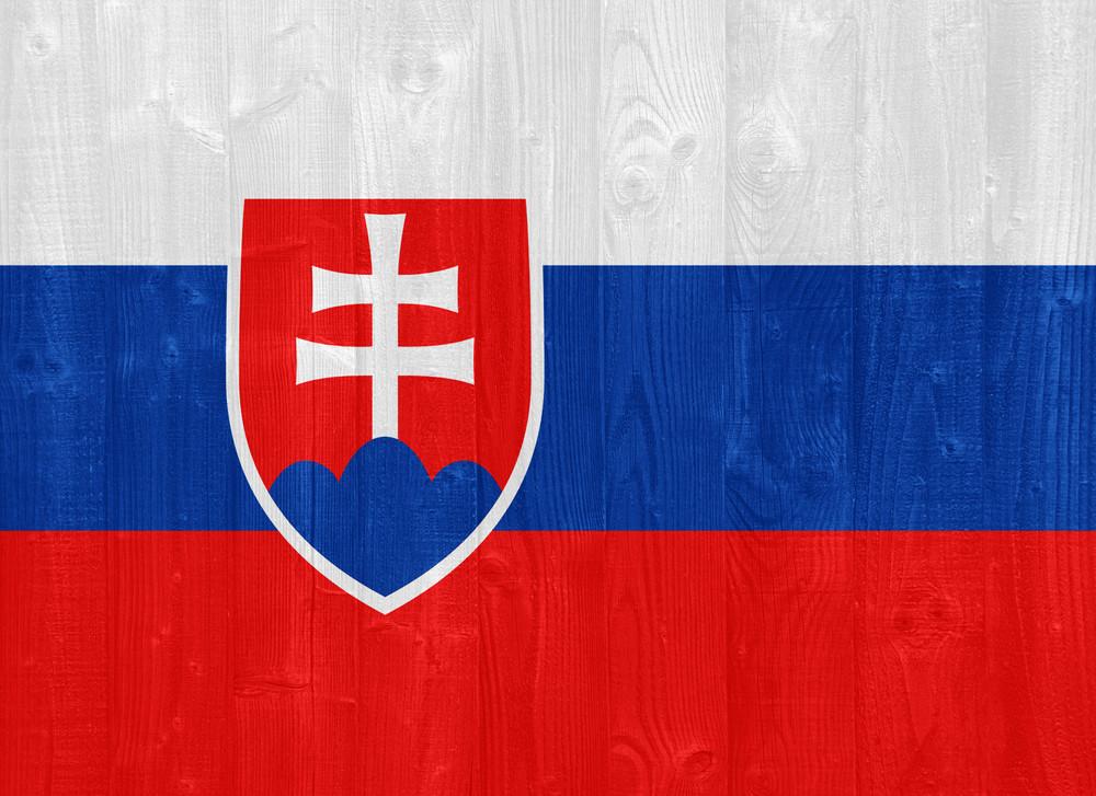 Slovakia Flag