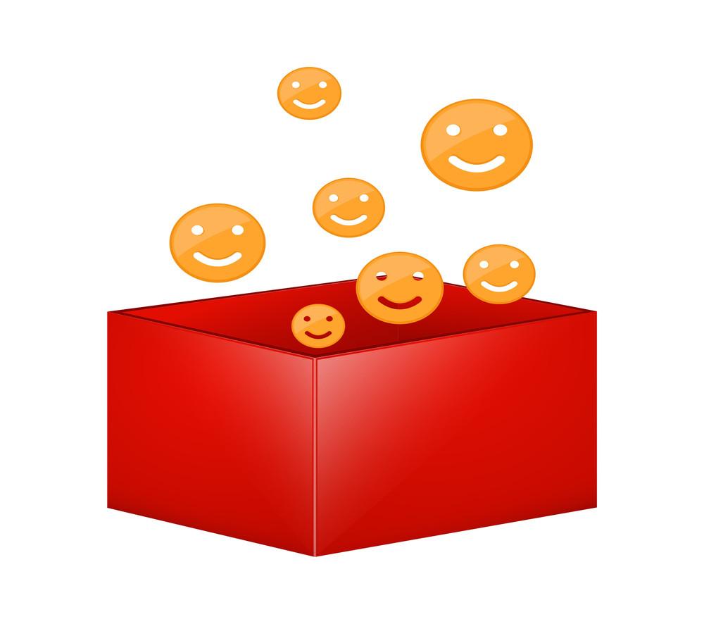 Smiley Gift Box