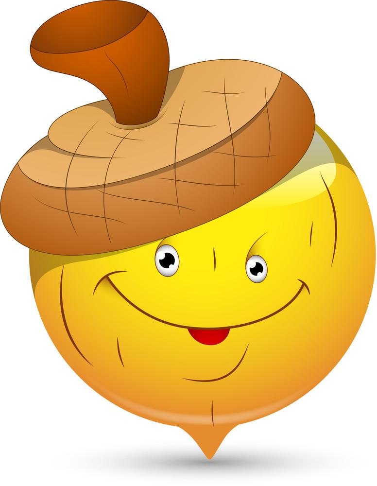 Smiley Vector Illustration - Beechnut Face