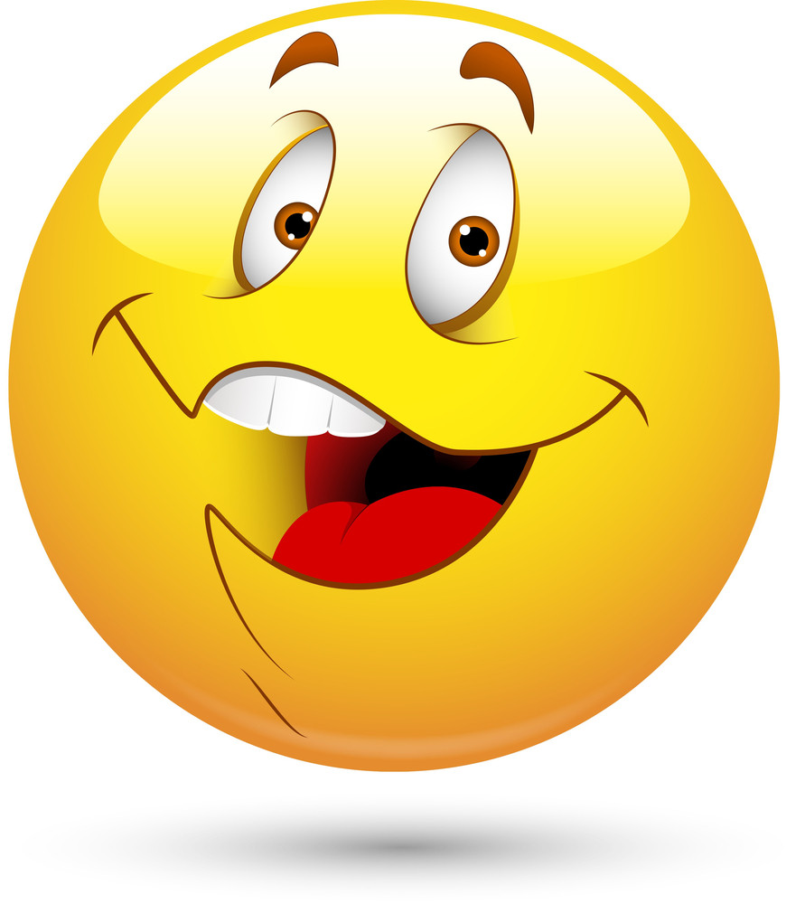 Smiley Vector Illustration - Happy Face
