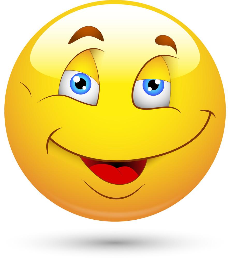 Smiley Vector Illustration In Vector Format
