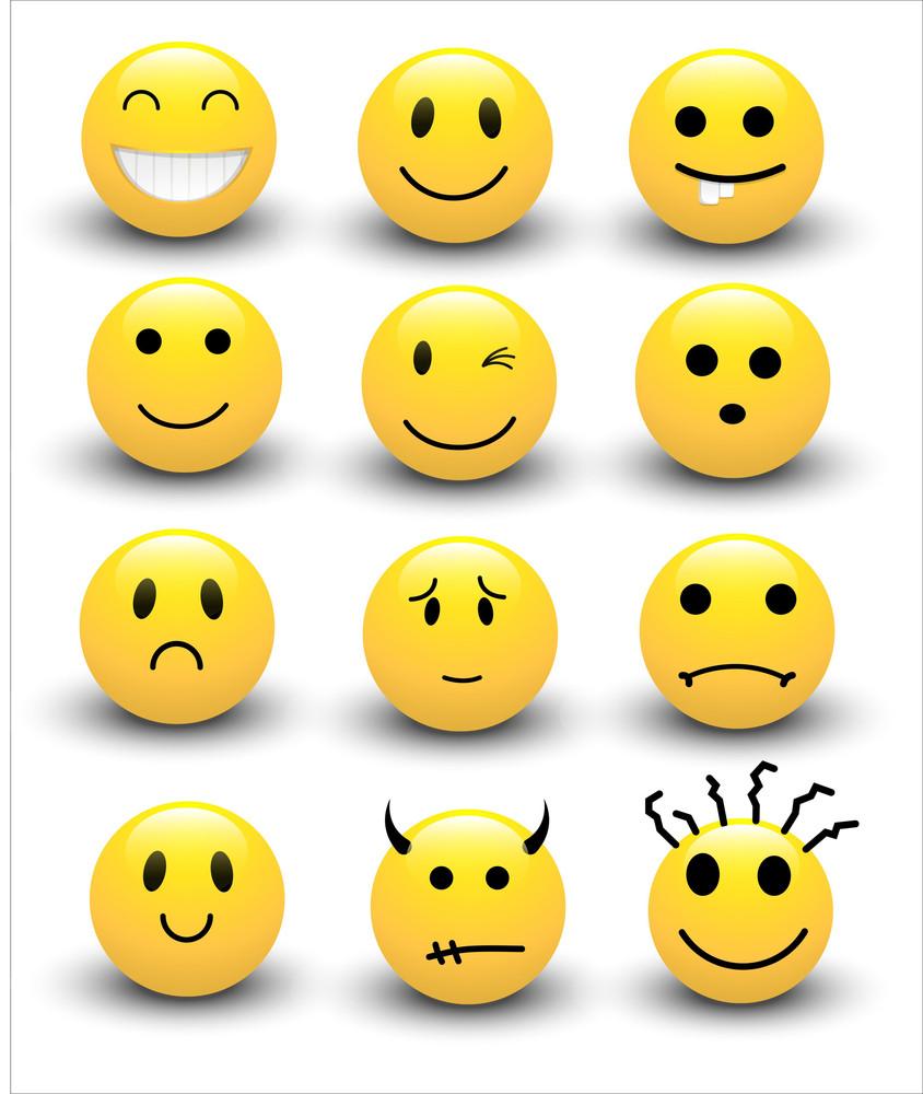Smileys Vectors