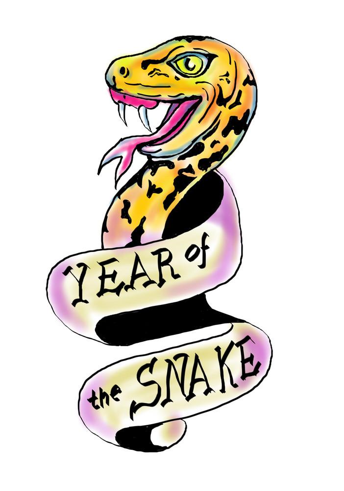 Snake Head Paint