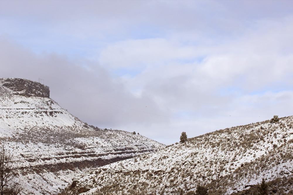 Snow Land Desert