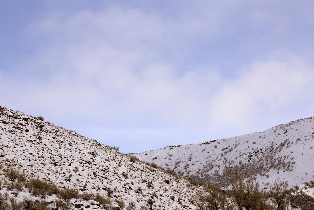 Snow Land Sky