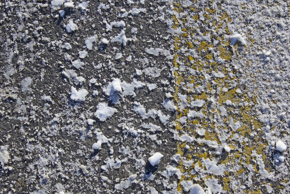 Snow Road Texture