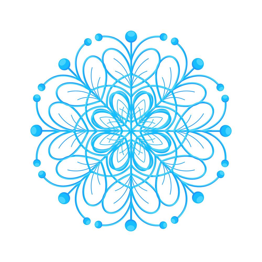 Snowflake Decorative Element