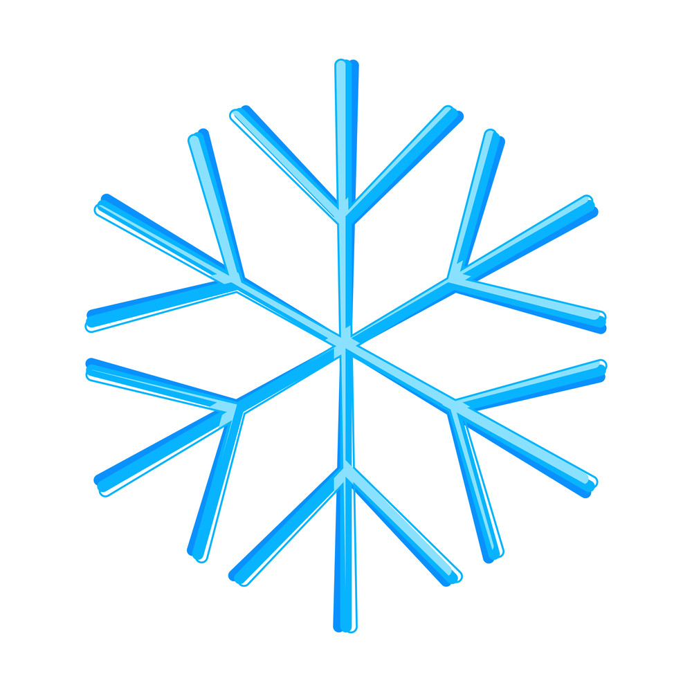 Snowflake Design Art Vector