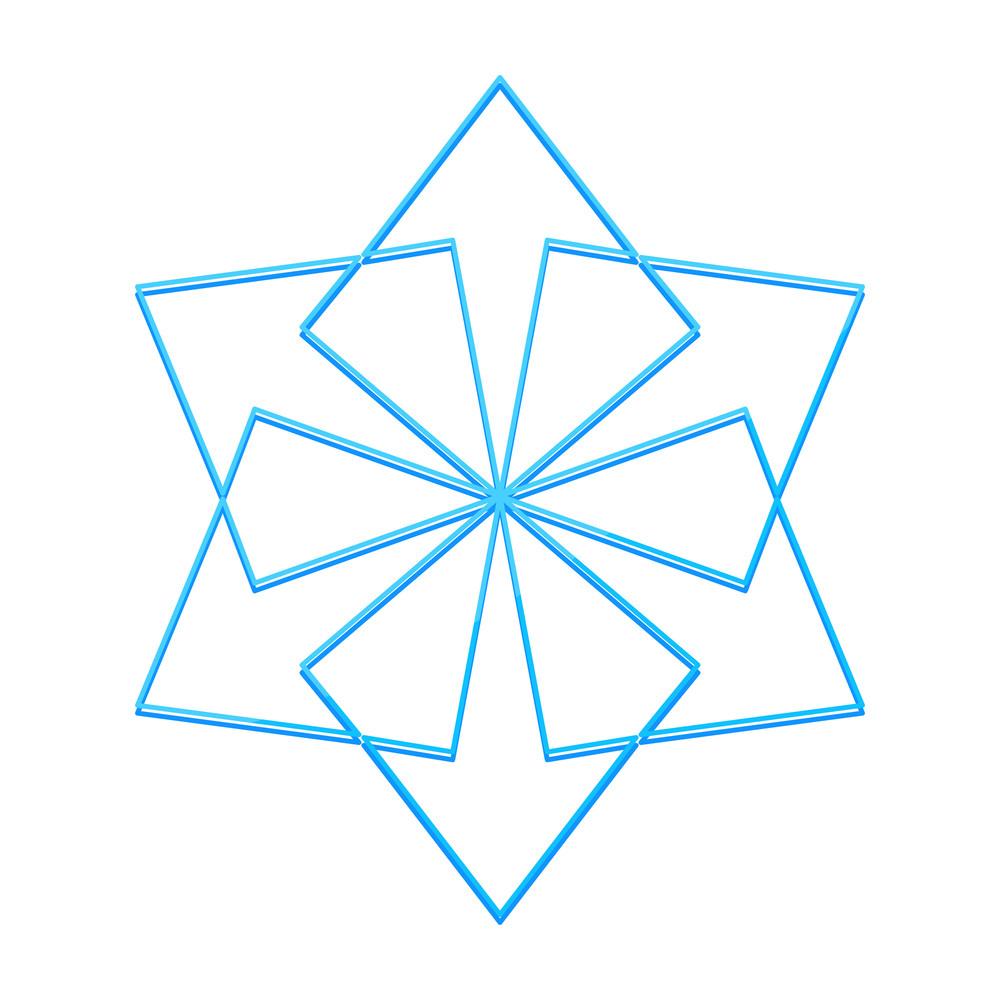 Snowflake Design Element