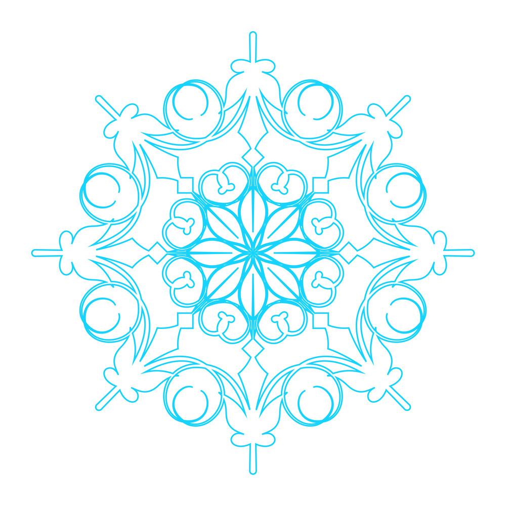 Snowflake Element Art