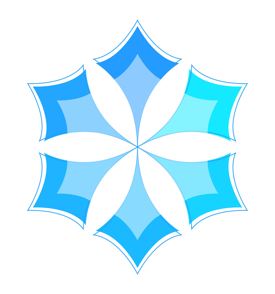 Snowflake Star Design