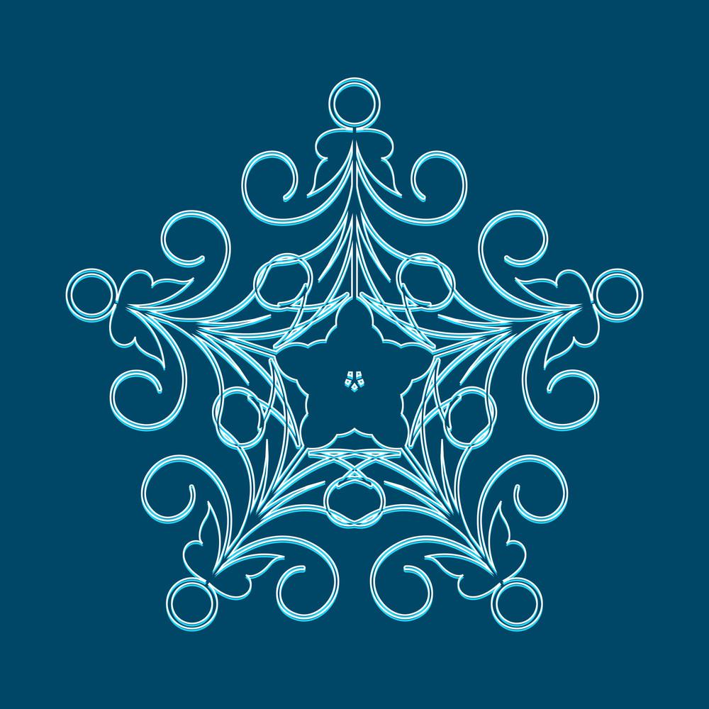 Snowflake Vector Art
