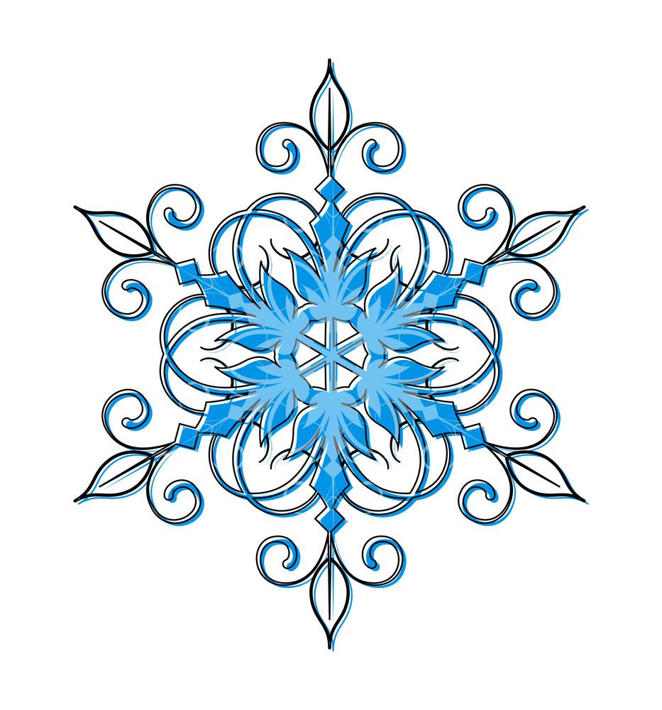 Snowflake Vector Design