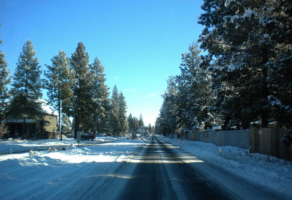 Snowy Street